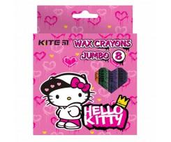 Крейда Kite Jumbo Hello Kitty 8 штук асорті (HK21-076)