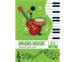 Зошит для нот Cool For School А5 8 аркушів (CF23013)