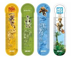Закладинки пластикові Cool For School для книг, 4шт, поліпропілен (IA09691)