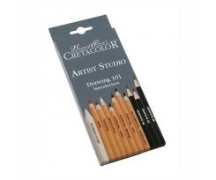 Набір олівців для рисунку Cretacolor Artist Studio, 11 шт., (90546411)