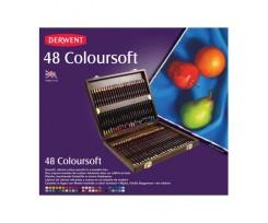 Набір кольорових олівців Derwent Coloursoft, 48 кол., (2301660)