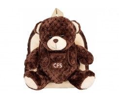 Ранець COOLFORSCHOOL Brown Honey Bear, 25*21*15 (CF86070)