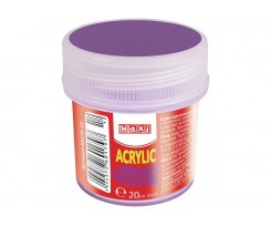 Акрил Maxi для декору 20 мл фіолетовий (MX60179-12)