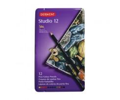 Набір кольорових олівців Derwent Studio, 12 кол., (32196)