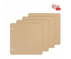 Заготовка для альбому ROSA TALENT картон 300х300 мм 4 ст (94232021)