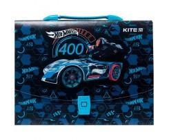 Портфель-коробка Kite Hot Wheels 1 відділення А4 (HW20-209)