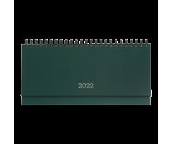 Планінг датований Buromax Monochrome 2022 320х125 мм 120 сторінок зелений (BM.2593-04)