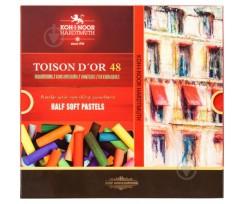 Крейда пастельна Koh-i-Noor Toison d'or 48 кольорів 48 штук асорті (8546)
