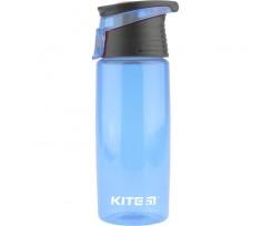 Пляшечка для води Kite пластикова, 550 мл, блакитна (k18-401-04)