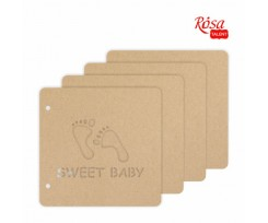 Заготовка для альбому ROSA TALENT Sweet baby 200x205 мм 4 ст (94232012)