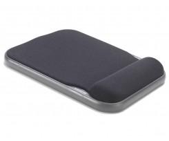 Килимок для миші Kensington Height Adjustable 280х200х40 мм чорний (57711)