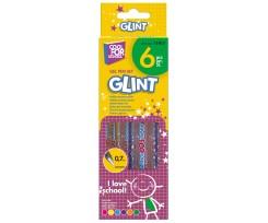 Набір з 6-ти гелевих ручок Cool for School Glint 1.0 мм асорті (CF11917)