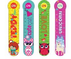 Закладинки для книг Cool for school Animals 4 штуки асорті (CF69107)