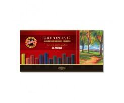 Крейда-пастель Koh-i-Noor Gioconda 12 кольорів асорті (8352012001ks)