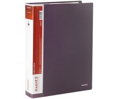 Дисплей книга Axent з 80 файлів A4 поліпропілен сливова (1280-11-A)