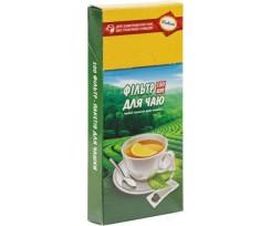 Фільтр-пакети Україна для чаю 7х12 см 100 штук (prpt.0289)
