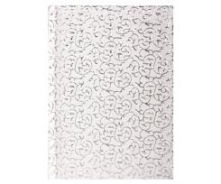 Щоденник датований 2021 Economix SULTAN, А6, 352 сторінки, срібно-білий (E21827-14)