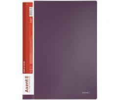Дисплей книга Axent з 20 файлів A4 поліпропілен сливова (1020-11-A)