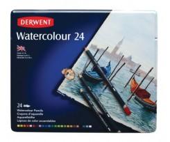 Набір акварельних олівців Derwent Watercolour 24 шт (32883)