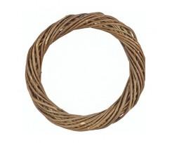 Віночок для декорування Knorr Prandell верба темна діаметр 30 мм (216791301)