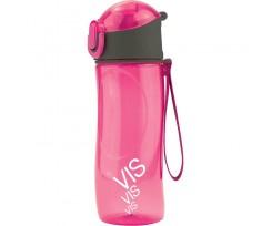 Пляшечка для води Kite VIS, пластикова, 530 мл, рожева (VIS19-400-02)