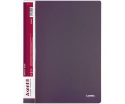 Дисплей книга Axent з 60 файлів A4 поліпропілен сливова (1060-11-A)