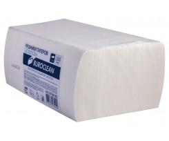 Рушники паперові целюлозні BuroClean 25х23см, V-подібні, 200 шт, 2-х шарові, білі (10100105)