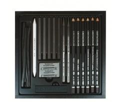 Набір олівців для рисунку Cretacolor Black Box, 20шт., (907146040)