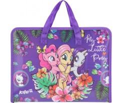 Портфель на блискавці Kite My Little Pony 1 відділення A4 РР (lp17-202-01)