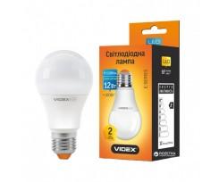 Лампа Videx LED 12 W E27 3000 K 220 V (VL-A60e-12273)