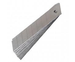 Леза для канцелярських ножів Delta 10шт, 18мм (d6524)