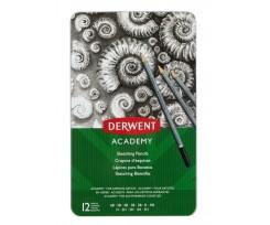 Набір графітних олівців Derwent 12шт 2мм (2301946)