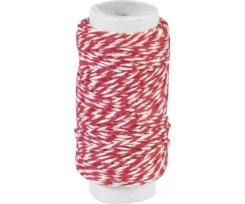 Декоративна нитка Knorr Prandell подвійна Червона 20м (2162660012)