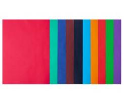Набір кольорового паперу Buromax Dark+Intensiv А4 10 кольорів 50 аркушів (BM.2721950-99)