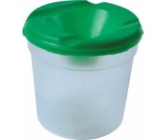 Стакан непроливайка для пензлів  Economix одинарний, пластик, асорті (E86801)