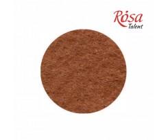 Фетр листковий ROSA TALENT 215х280 мм поліестер Коричневий світлий 180 г/м2 (165FW-H027)