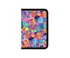 Папка Cool For School Colorfull на блискавці асорті (CF32016)