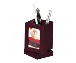 Підставка для ручок з фоторамкой Bestar дерево червоне дерево (1591FDU)