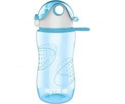 Пляшечка для води Kite пластикова, 560 мл, блакитна (k18-402-04)