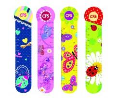 Закладинки для книг Cool for School Butterflies 4 штуки асорті (CF69103)