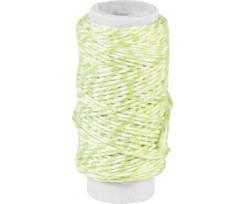 Декоративна нитка Knorr Prandell подвійна Салатова 20м (2162660016)