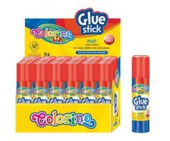 Клей - олівець Colorino PVP основа,9 гр., білий ( 65139PTR)