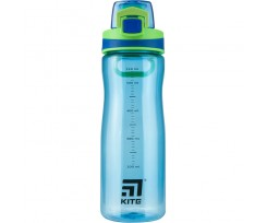 Пляшечка для води Kite 650 мл, тритан, блакитна (K20-395-02)