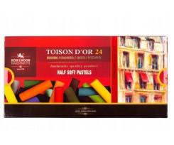 Крейда пастельна Koh-i-Noor Toison d'or 24 кольори 24 штуки асорті (8544)