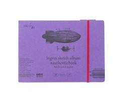 Альбом для ескізів Smiltainis AUTHENTIC (Ingres) А5, 24 аркушів, 130г/м2, (5EB-24ST/INGRE)