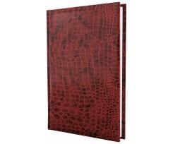 Щоденник датований 2021 Economix CROCO А6 352 сторінки коричневий матовий (E21645-07)