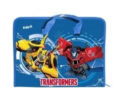 Портфель Kite Transformers на блискавці 1 відділення A4 РР (tf17-202)