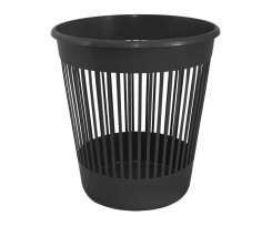 Корзина для паперу Delta 10л пластикова чорна (d4018-01)