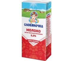 """Молоко ультрапастеризоване """"Слов'яночка"""" 2,5% 1000г. (sl.11596)"""