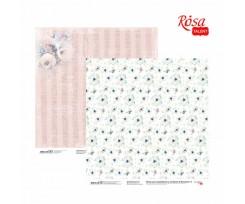 Папір для скрапбукінгу ROSA TALENT Emotion & Romance 2 двостороння 308х308 мм 200 г/м2 (5316053)